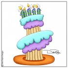 Stacked Cupcake