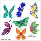 Lunar Butterflies
