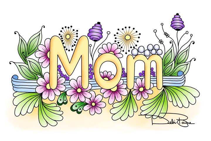 """""""Doodle Mom"""" by Debi Payne Designs"""