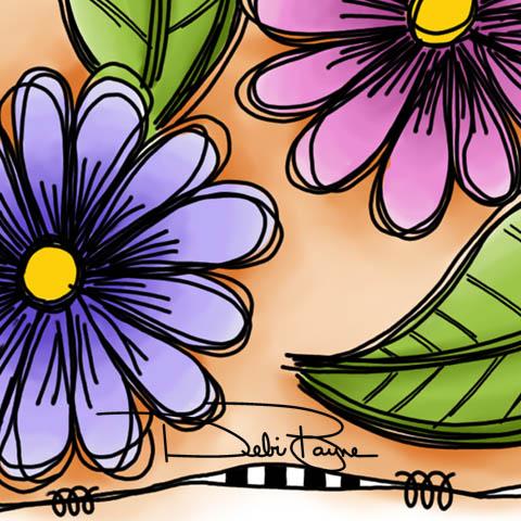 Purple-PinkFlowers-Closeup