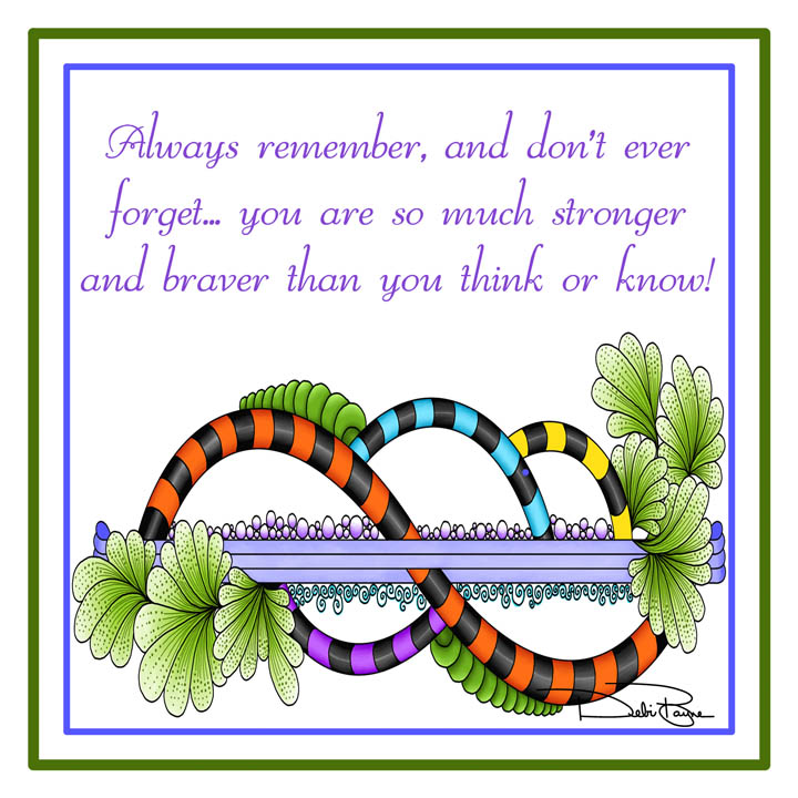 """Always Remember"" by Debi Payne Designs"