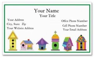 Birdie Village Biz Card