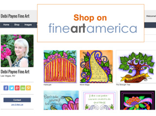 Shop on Fine Art America