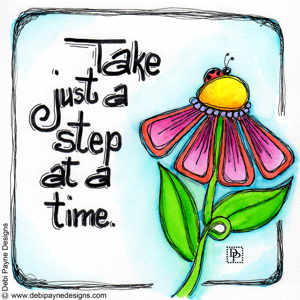 Image:  Take A Step At A Time