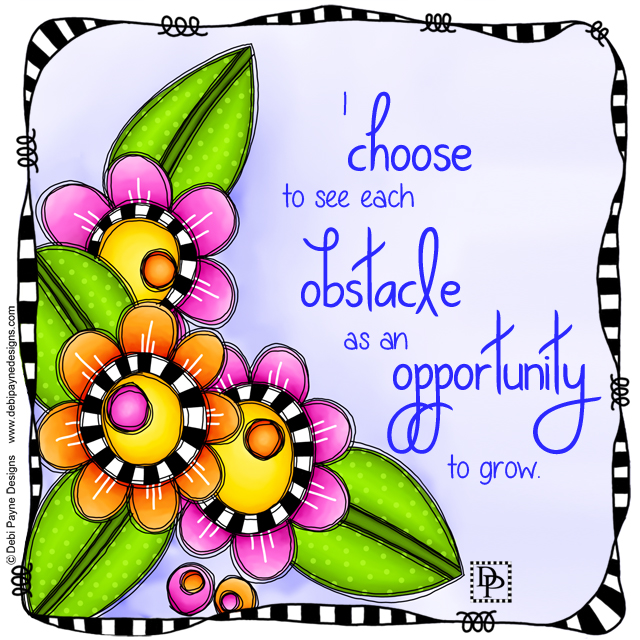 Image:  Obstacles as Opportunty