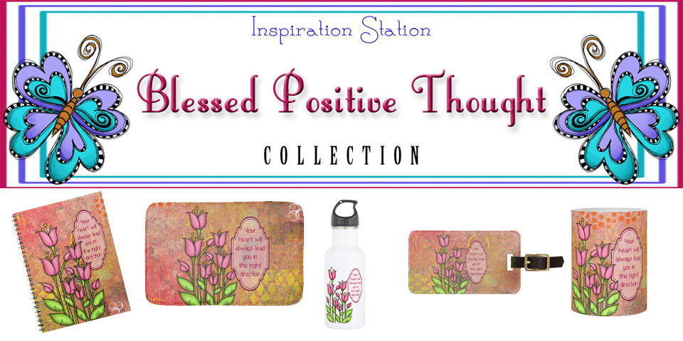 Image: Blessed Positive Thought Collection Banner