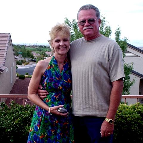Image:  Tim & Debi in Las Vegas