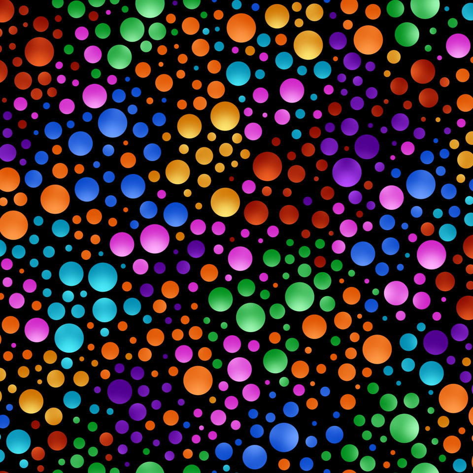 Image: Multi-color Carnival Dot