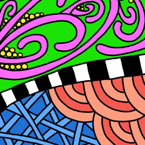 Christmas Twist Stockings-Closeup#1