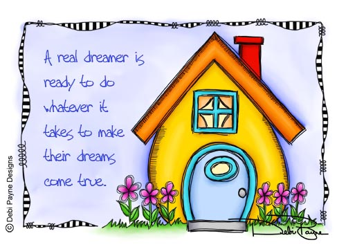 """A Real Dreamer"" by Debi Payne"
