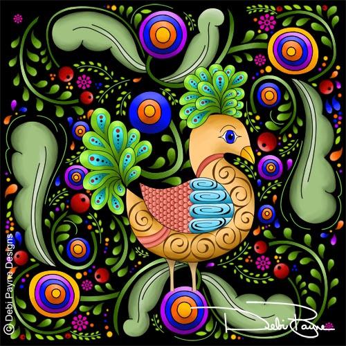 """Princess Birdie"" by Debi Payne"