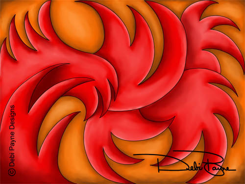 """Fire Dance"" by Debi Payne"