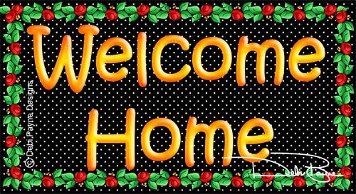 """Welcome Home"" by Debi Payne"