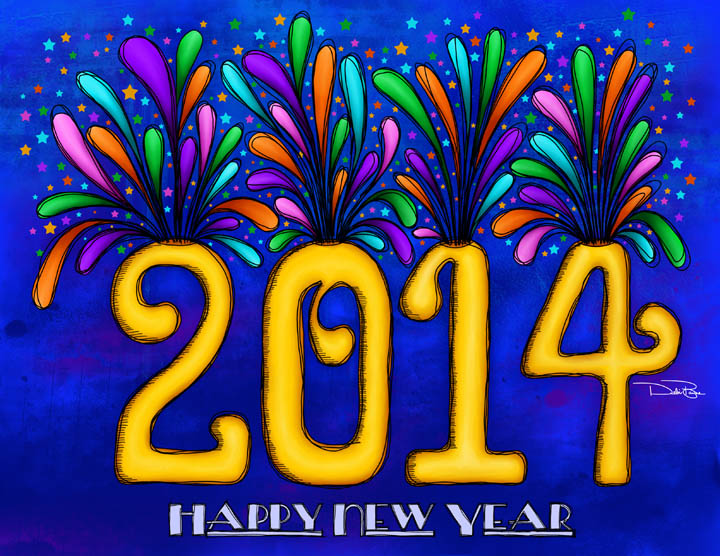 """2014"" designed by Debi Payne Designs"