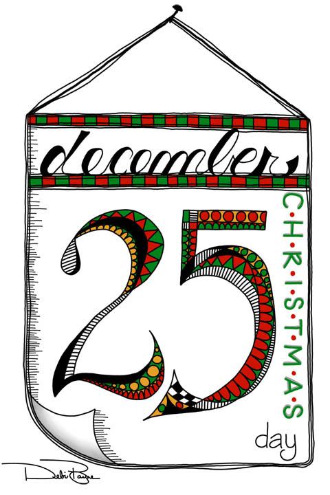 December 25th Full Illustration