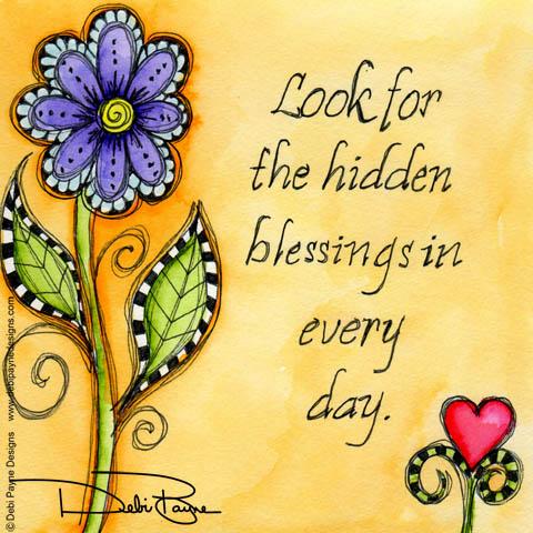 """""""Hidden Blessings"""" by Debi Payne of Debi Payne Designs"""