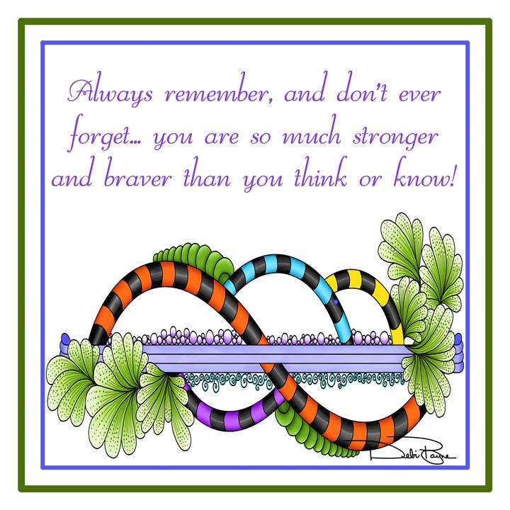 """Always Remember"" by Debi Payne Designs"