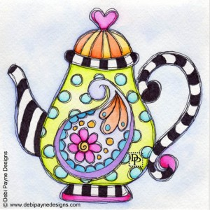 Image: A Paisley on a Teapot