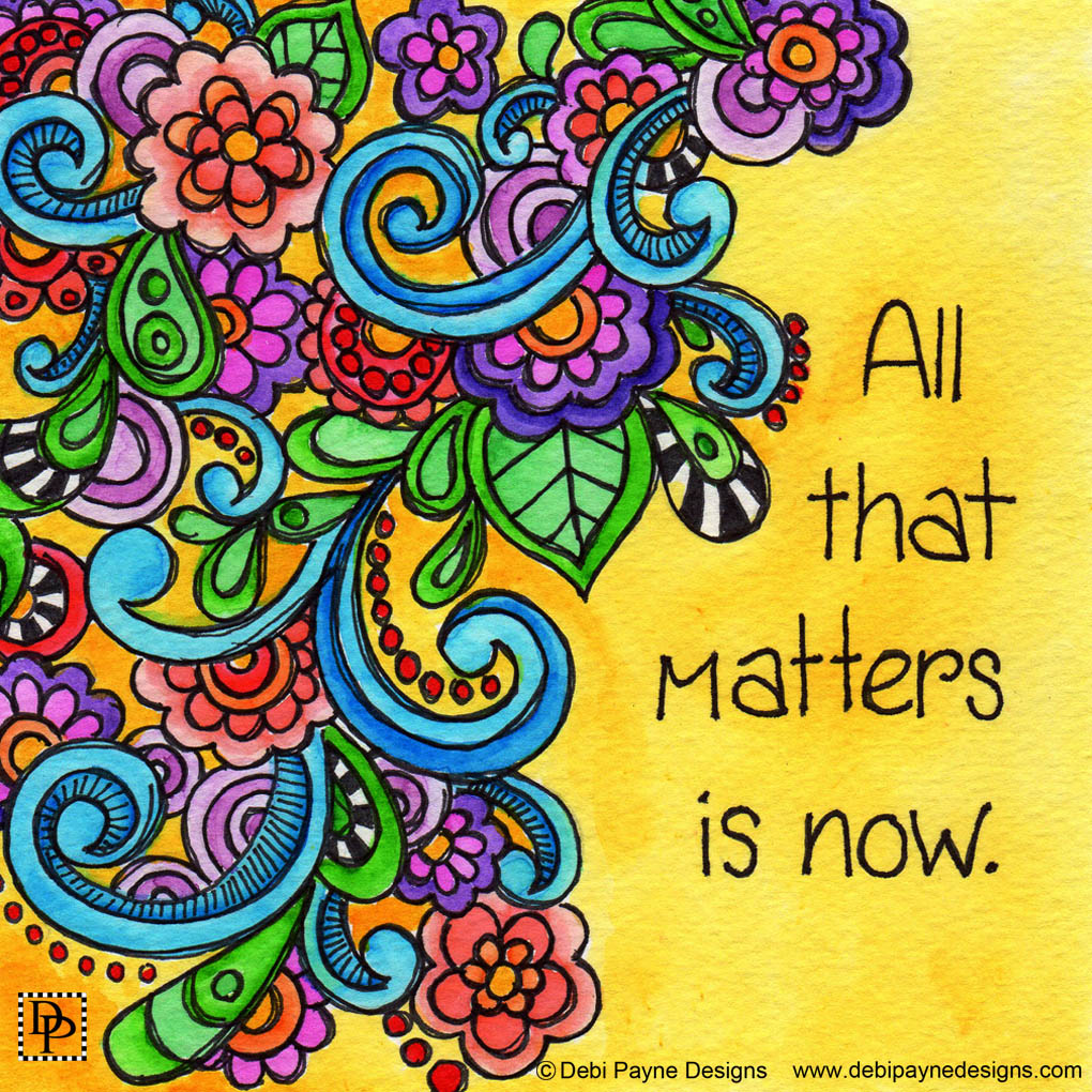 Image: All That Matters Is Now