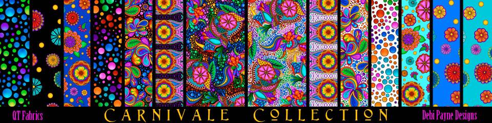 Image: Carnival Fabric Sample Bar