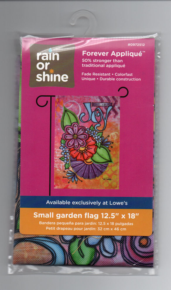 Rain Or Shine Find Your Joy Flowers Small Garden Flags