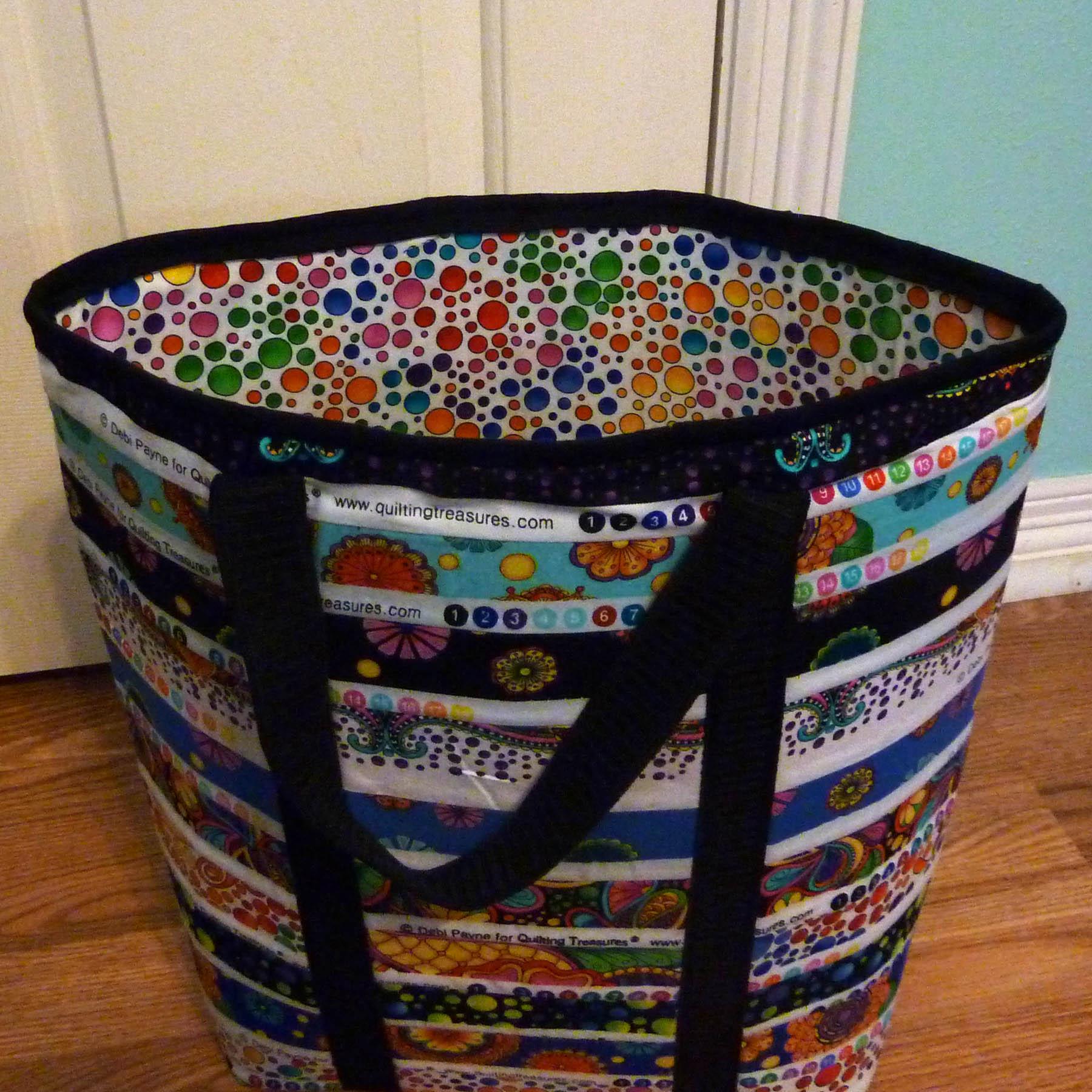 Image: Inside of Carnivale Book Bag