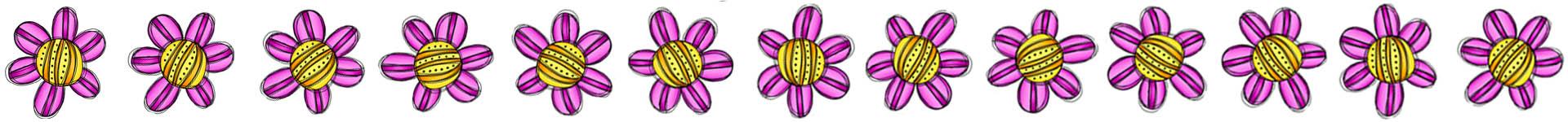 Image: Tiny Flower Border
