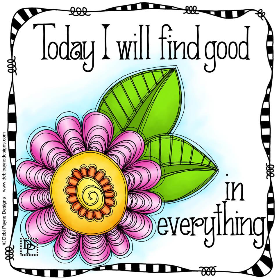 Image: Delight Doodle Flower Affirmation