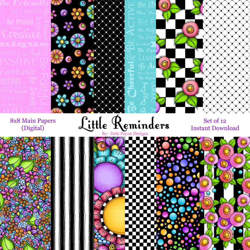 Little Reminders Main Papers Etsy Image