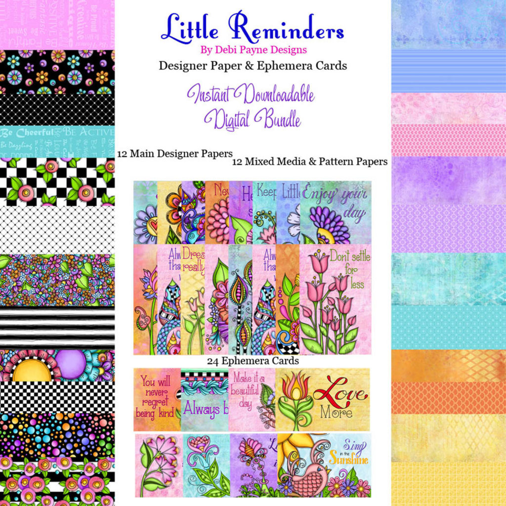Little Reminders Bundle Etsy image by Debi Payne Designs.
