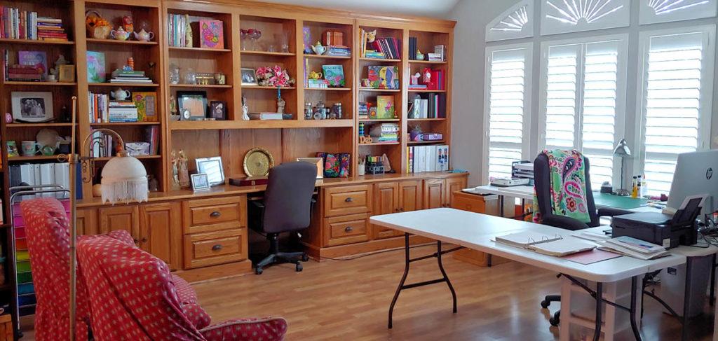 The newly finished Debi Payne Designs Studio.